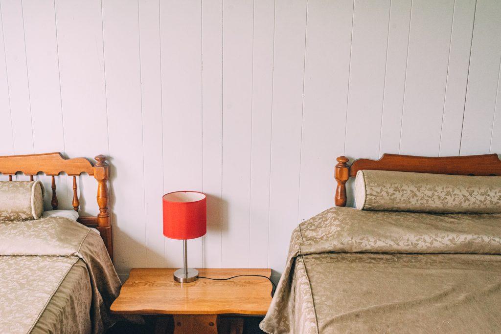 Chambre double – vue sur la forêt (non rénovée)